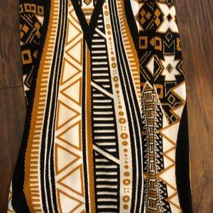 LuLaRoe Dresses - Gold/White/Black HTF Elegant XXS Debbie - LulaRoe